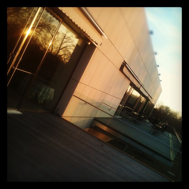 Facilitating a session tonight for Storefront for Community Design. Our venue is the VMFA, subject - Robinson Street. (Taken with instagram)