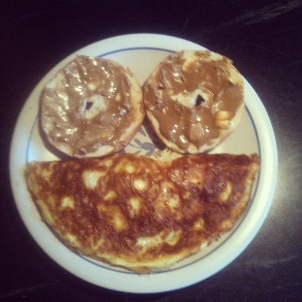 Breakfast is a smile (Taken with Instagram at My house)