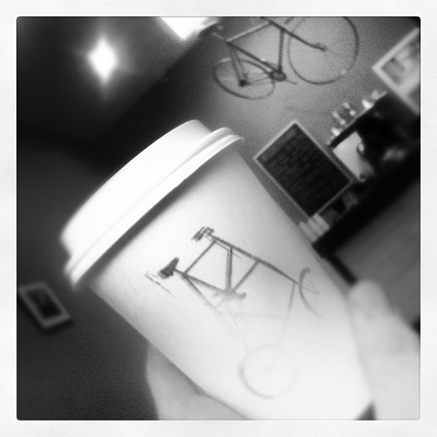 Awesome coffee here @thekickstand (Taken with  Instagram  at The Kickstand)