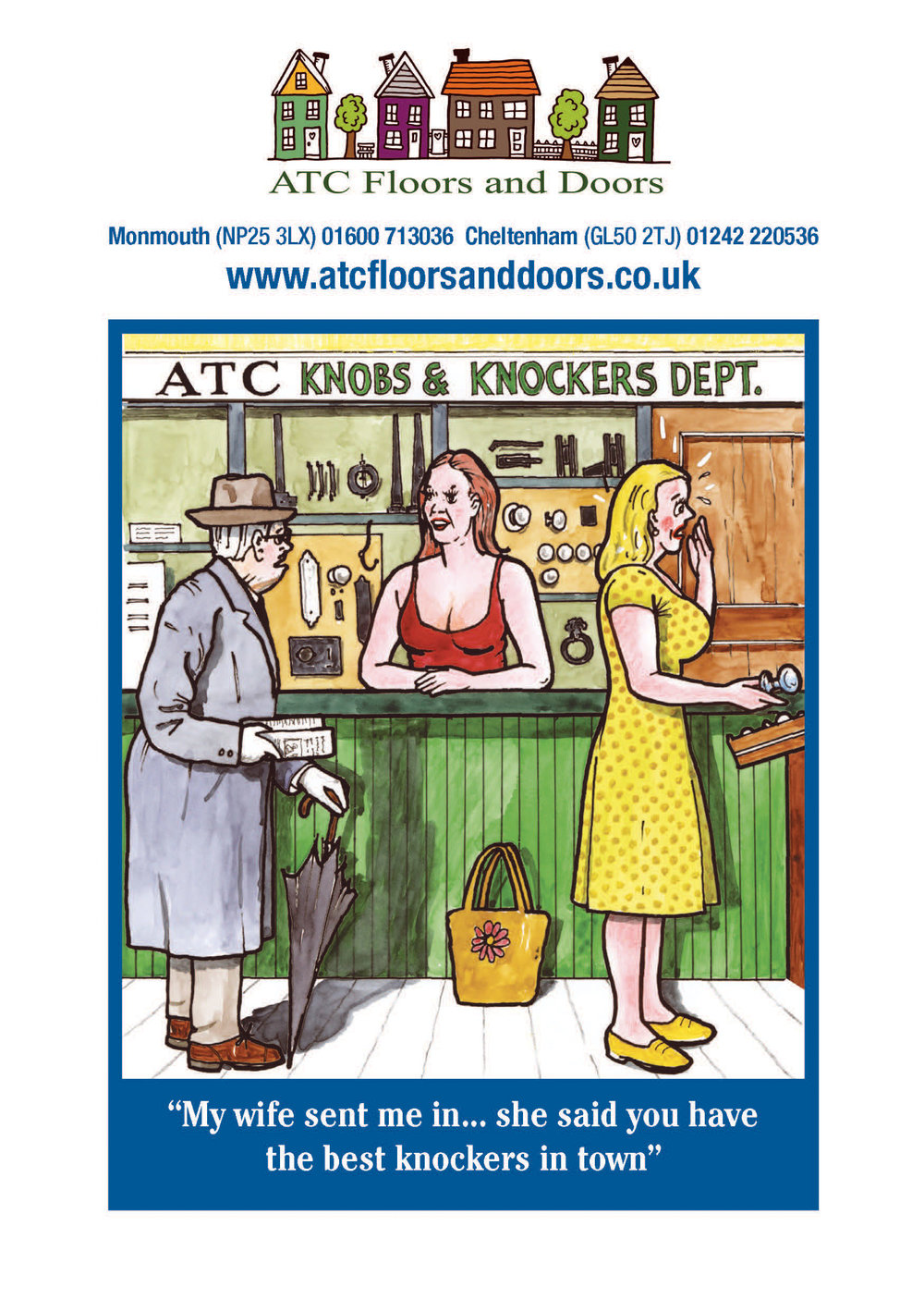 ATC 'Knobs and Knockers' Advert