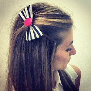 Pink Breast Cancer Awareness Bow