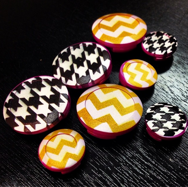 Chevron & Houndstooth