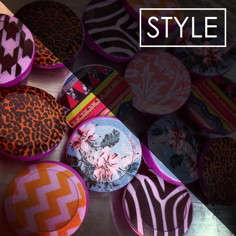Style button covers