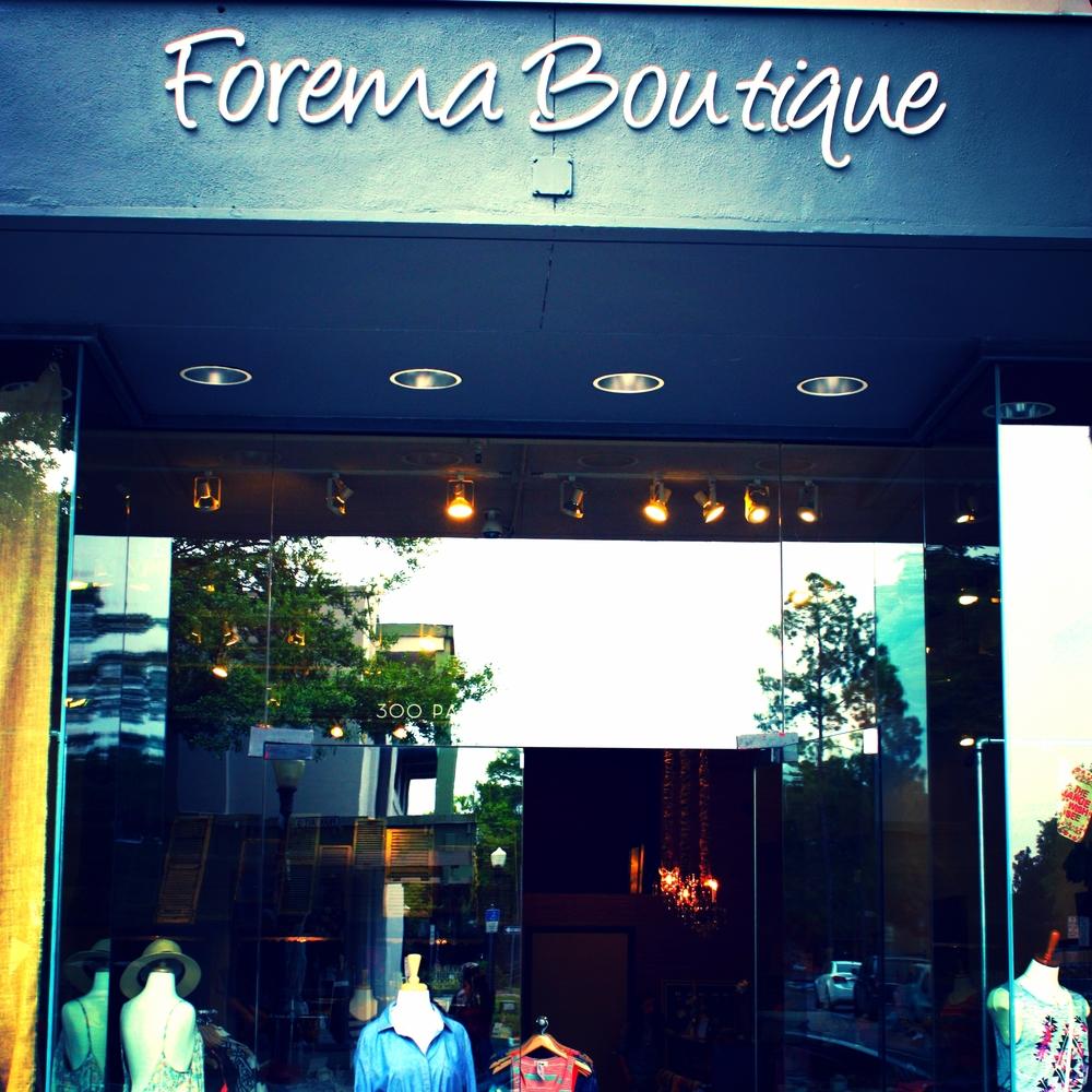 Forema Boutique Park Ave.