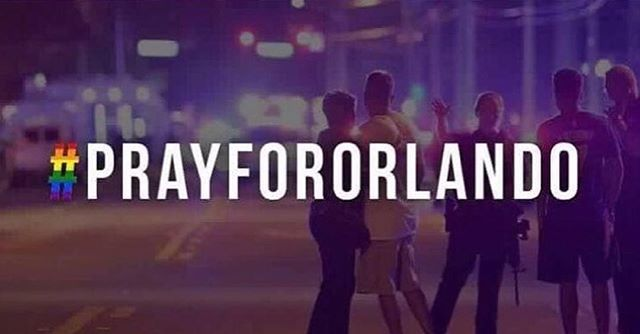 Our hearts are heavy with the tragedy that has afflicted our home, Orlando. Our thoughts and prayers go out to the friends and family of the victims of last night's attack at Pulse and the LGBT community. #prayfororlando
