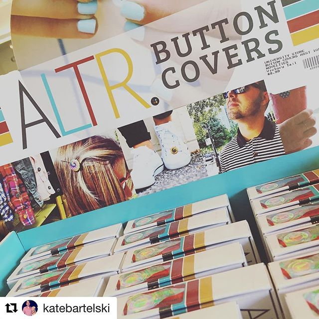 It's been a while! We have been BUSY in the ALTRNATION - Taking over bookstores & some big news! (Coming soon). Shout out to @katebartelski for sharing the love from @georgiasouthernuniversity ❤️ #REPOST #buttoncovers