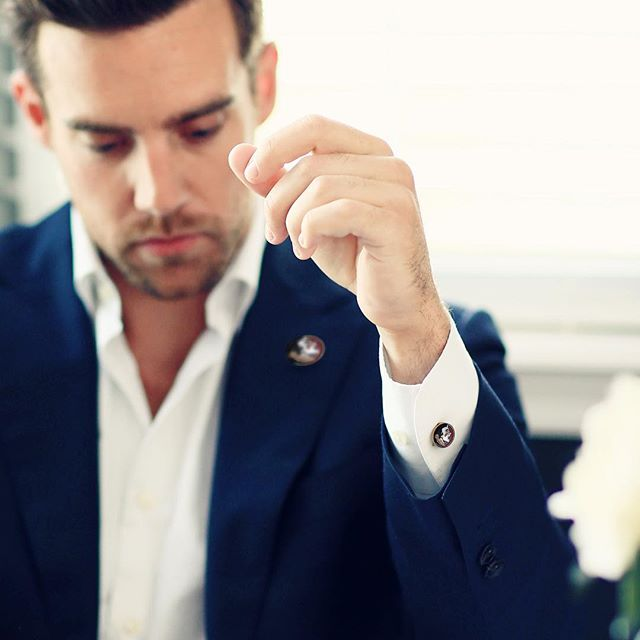 Last day of work before rivalry games like... 🏈// SHOP Collegiate Button Covers at @MadeLoyalUSA MadeLoyal.com  #ButtonCovers #ALTRNATION #FSU #fsuvsuf #rivalryweek #cufflinks #dapper #giftideas #style