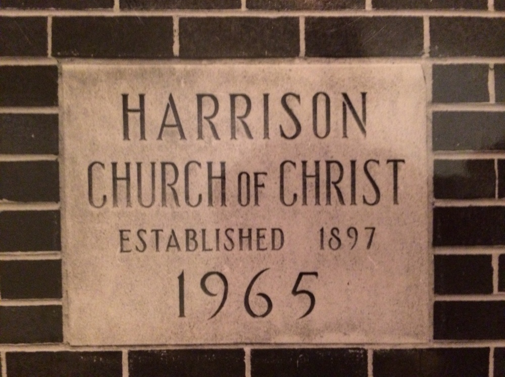 The cornerstone of the sanctuary which houses a time capsule.