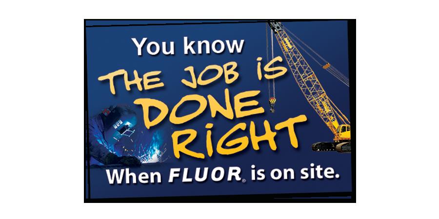 Fluor Slogan