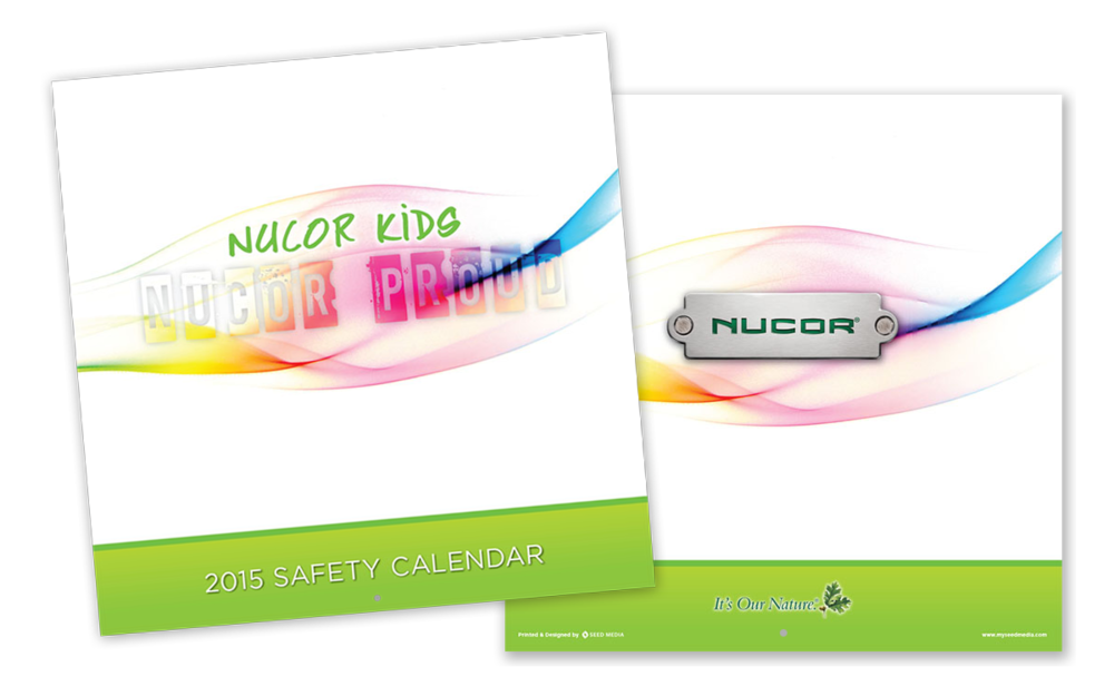 Safety Wall Calendar