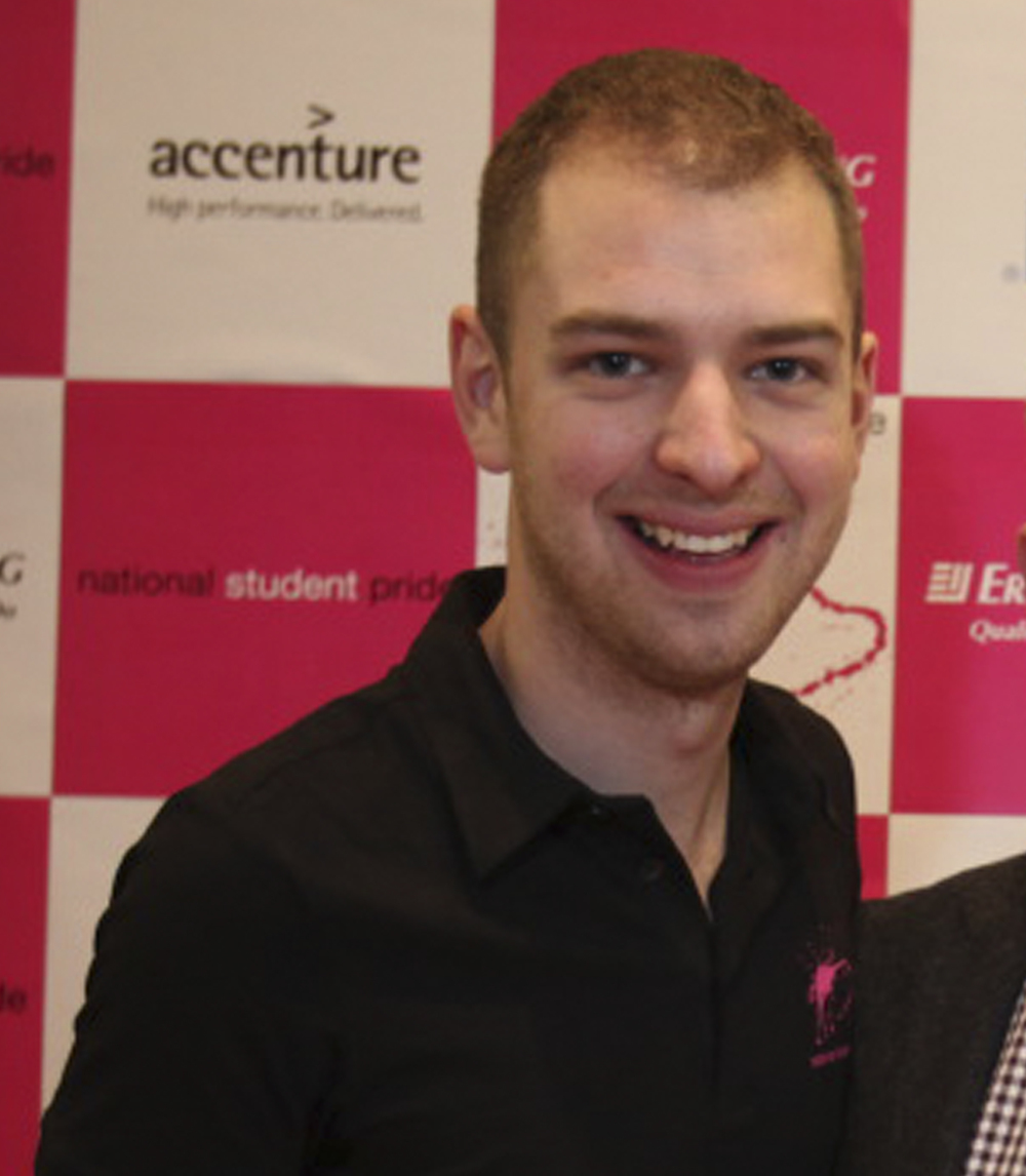 President: Tom Guy tom@studentpride.co.uk Founder NSP & Architecture graduate: Oxford Brookes, Brighton and Westminster.