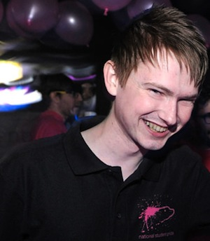 Director Of Comms: Jamie Wareham   jamie@studentpride.co.uk    University of Westminster graduate,  Radio Production