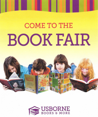 The Usborne Book Fair is coming Sunday, November 2, 9am-2pm and Monday, November 3, 1:30-4pm! Click for more information or to order online!