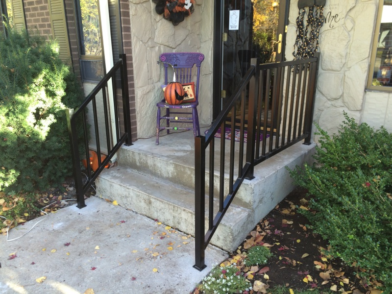 porch railing beautifies any porch deck and house the railing provides not only aesthetic value but safety as well custom fence is committed to - Porch Railing
