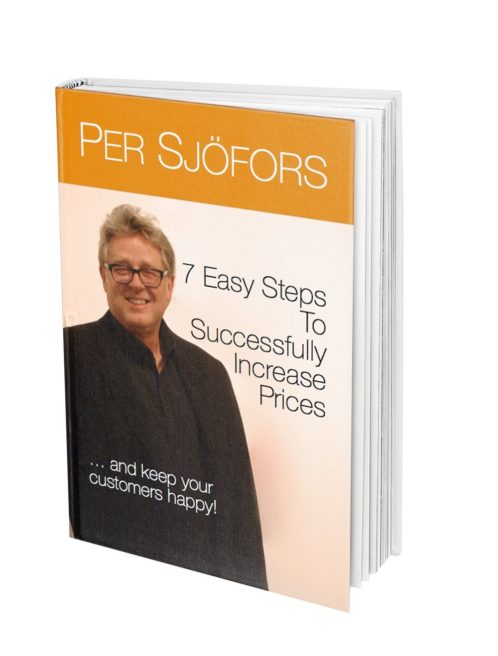 The author,  Per Sjofors is THE thought leader in pricing. Over the year hundreds of companies have taken his practical advice on how set prices right, and how to successfully increase prices,  adding billions of dollars to their bottom line. Per is also a sought-after speaker at conferences and corporate events, and he teaches the right way to price at local universities.