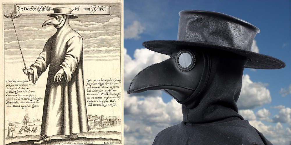Plague Doctor Hat In Garment Leather Tom Banwell Designs