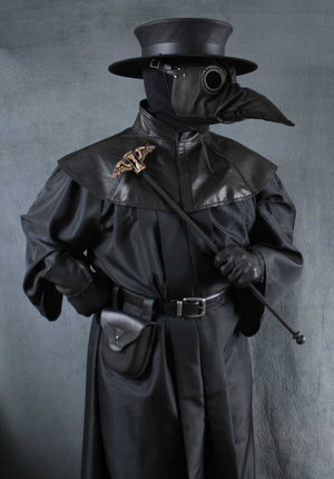 Plague Dr Costume Jackdaw Mask Tom Banwell Designs