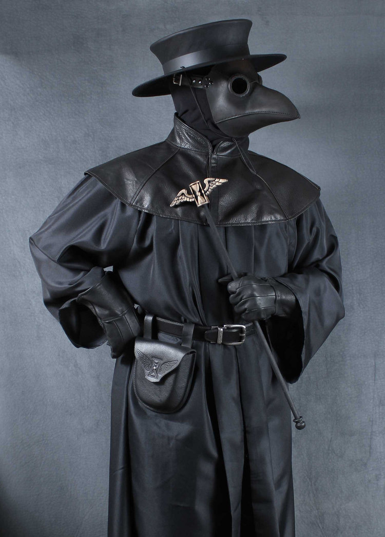 Plague Doctor Costume Classic Mask Tom Banwell Designs
