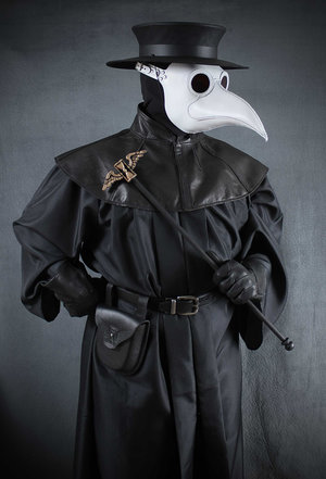 Plague Doctor Costume Maximus Mask Tom Banwell Designs