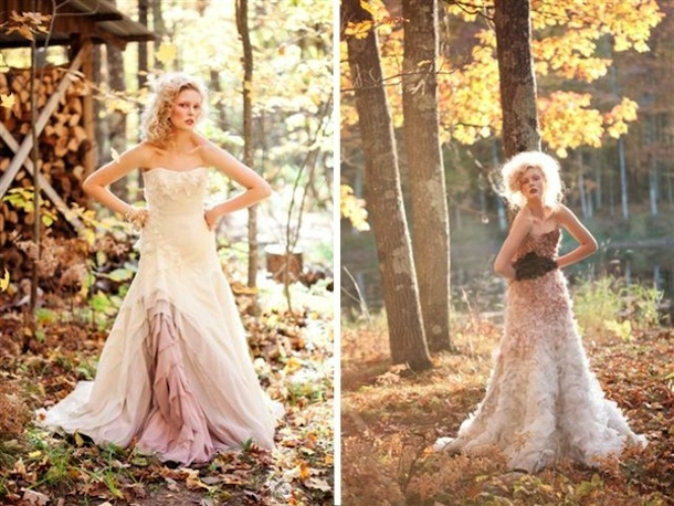 Trending Now: Ombre Wedding Gowns — Daring Delphia