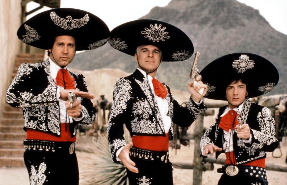 1986: Three Amigos!
