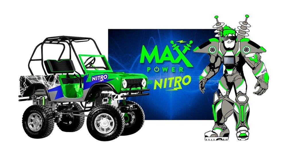 Max Power and NITRO.