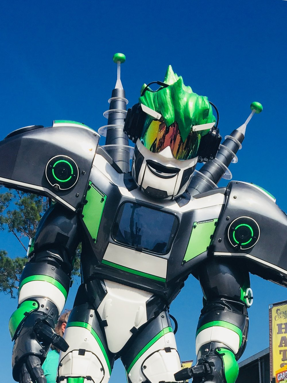 Max Power strolling robot