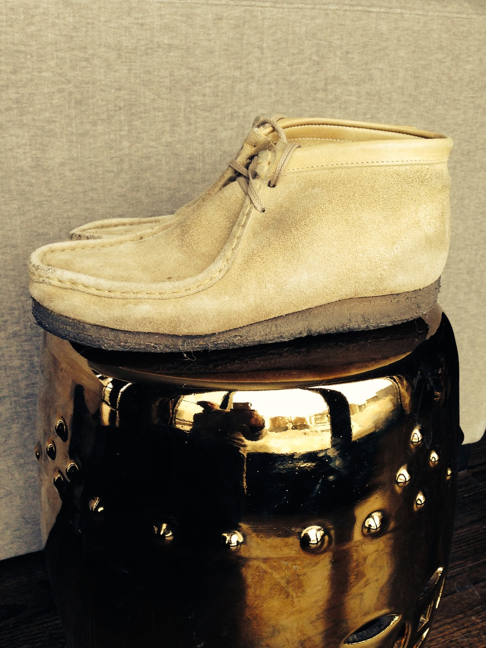 The gold standard: Wallabees.