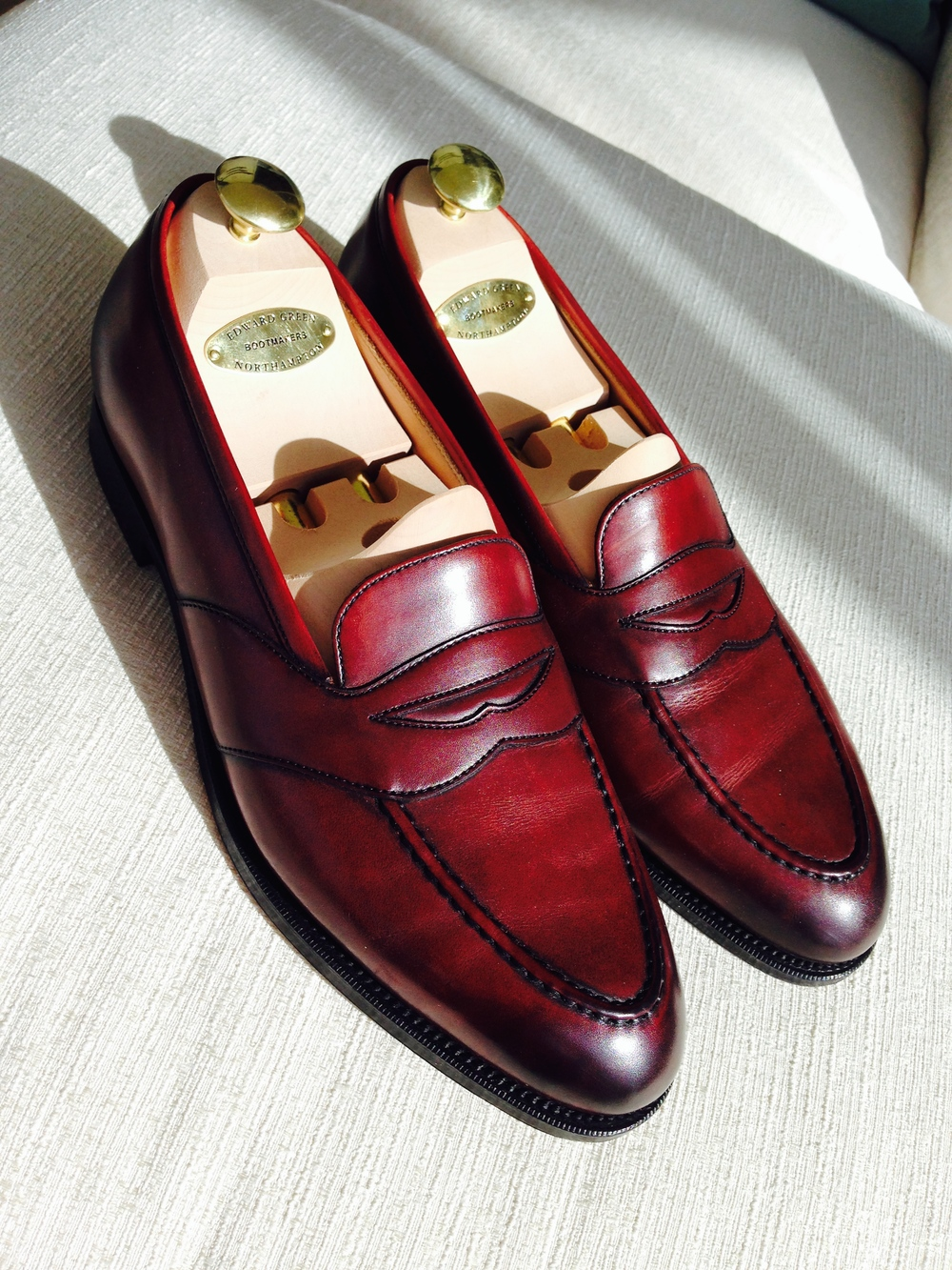 In direct sunlight, these full-straps lean more Beaujolais than Burgundy.  .