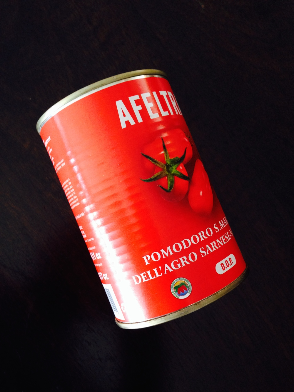 The canned Italian stuff: not bad, just not c oncassé.