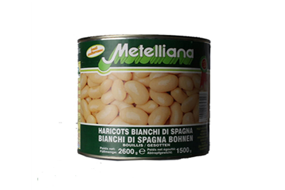 Canned butter beans 2.6kg