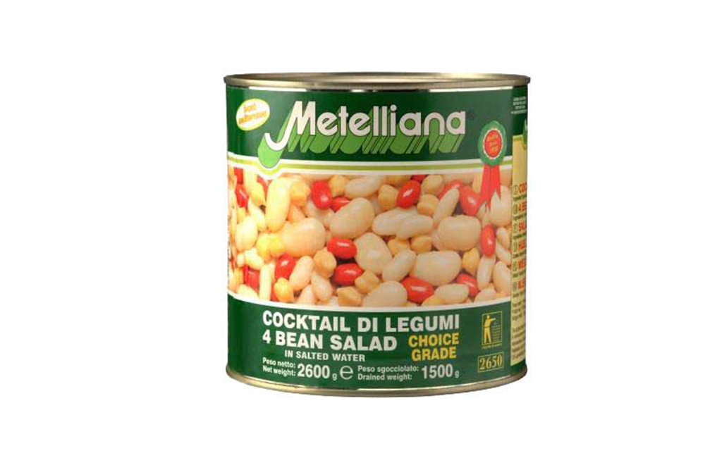 Canned 4bean salad 2.6kg