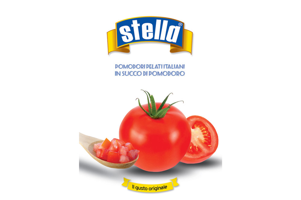 Stella chopped tomatoes 400g