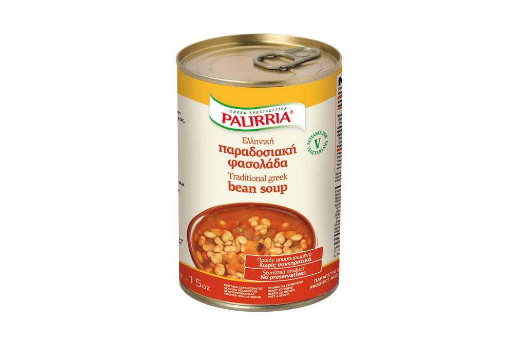 Palirria traditional beans soup 420g
