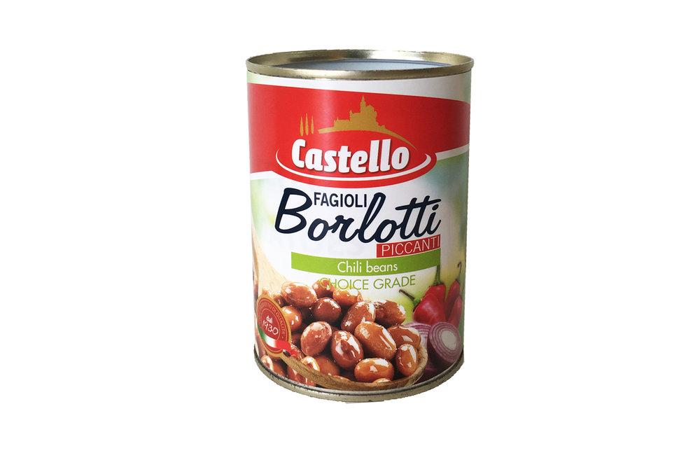Castello Borlotti beans 400g