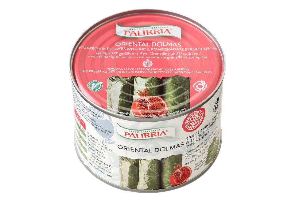 Palirria Oriental stuffed vine leaves 400g