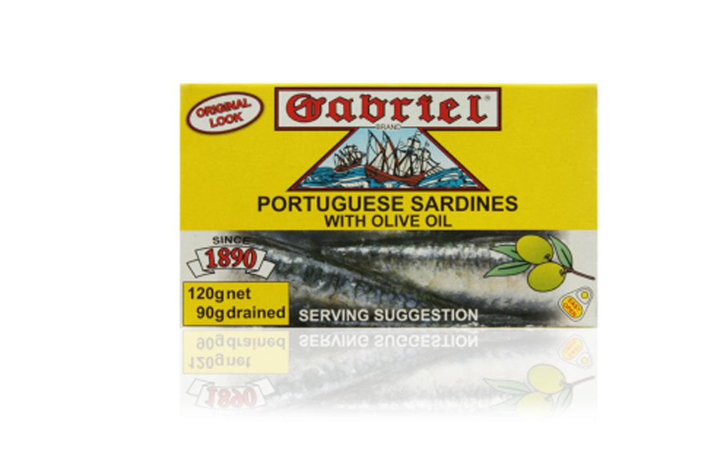 Sardines Gabriel in olive oil 120g