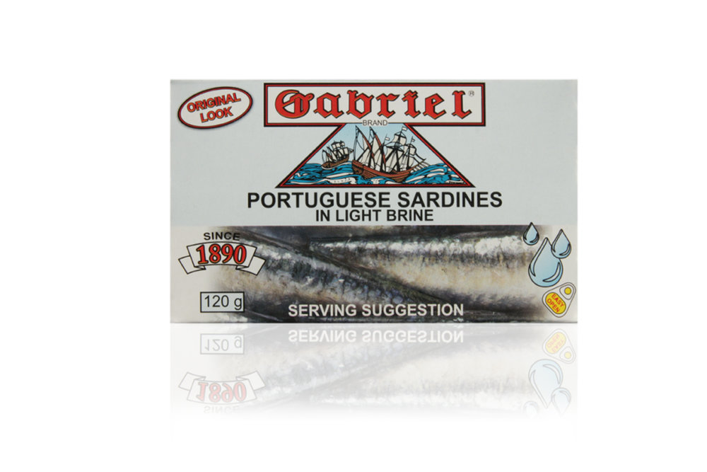 Sardines Gabriel in light brine 120g