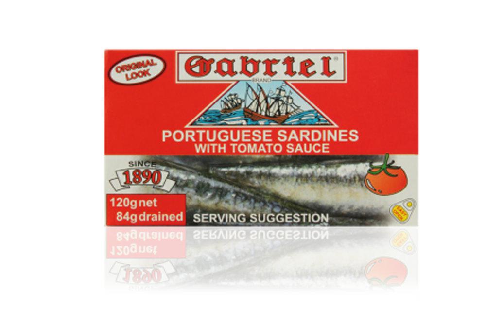 Sardines Gabriel in tomato sauce 120g