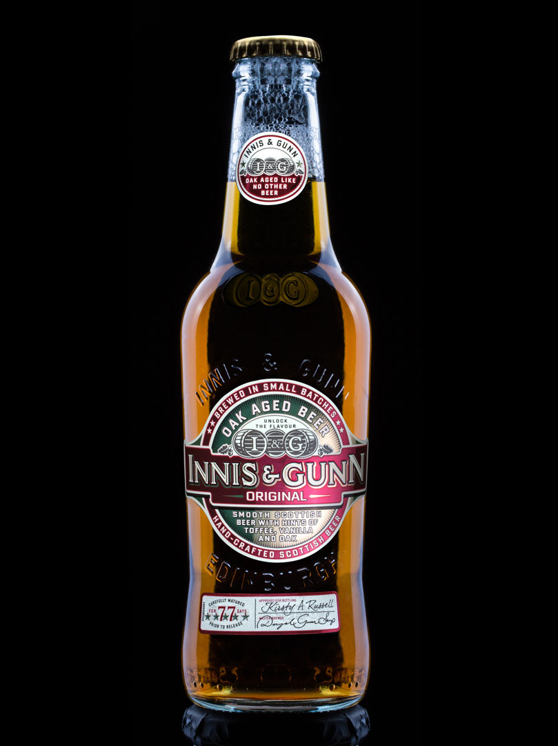 Innis & Gunn beverage photography