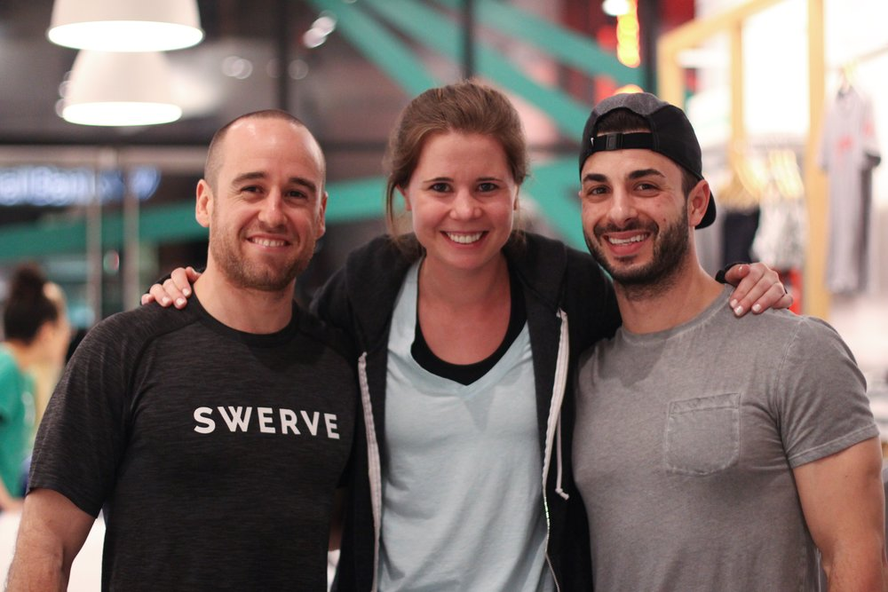 Eric Posner, Katie Sullivan, and Dan Giordano