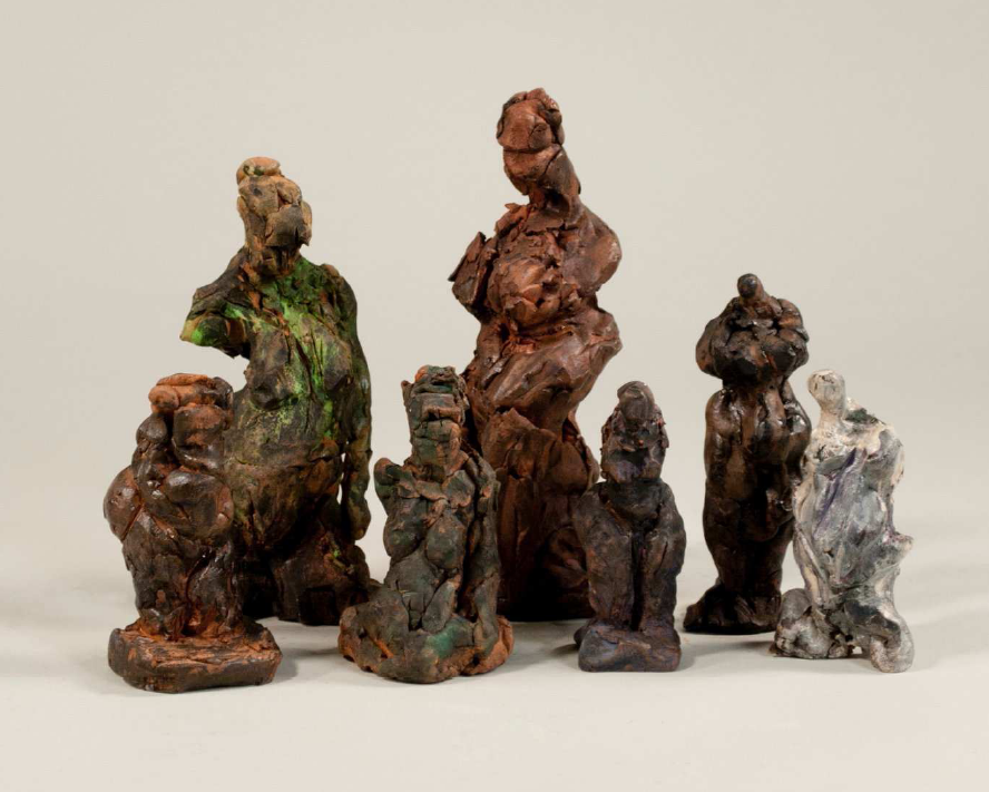 Figurative Impulse Clay and Metal