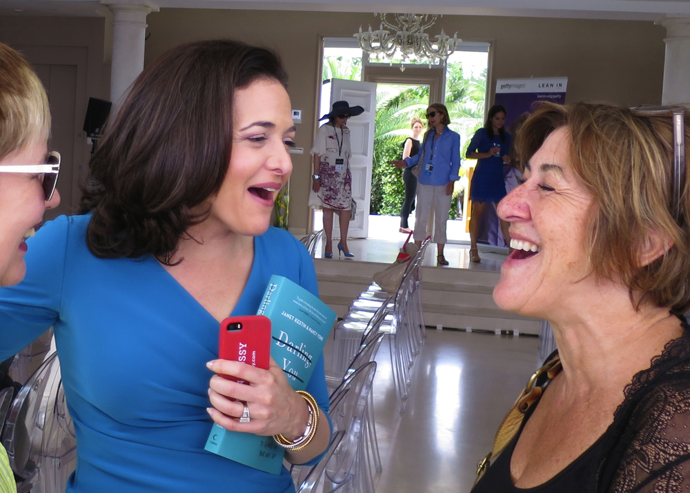 Sheryl Sandberg, Facebook, and Janet in Cannes.