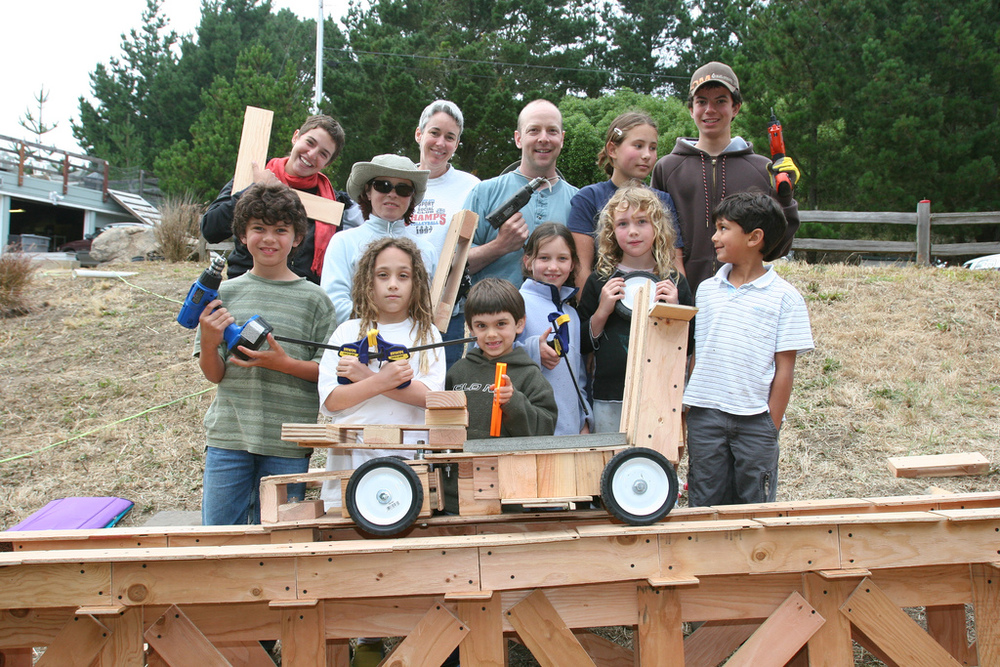 The first ever tinkering school shows off their coaster