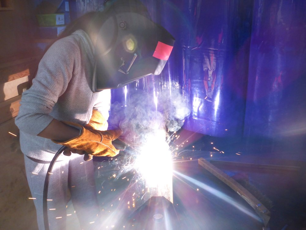 Click here to see more epic welding photos from the workshop!