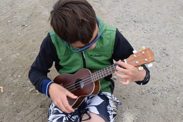 A ukulele is a two-handed tool.