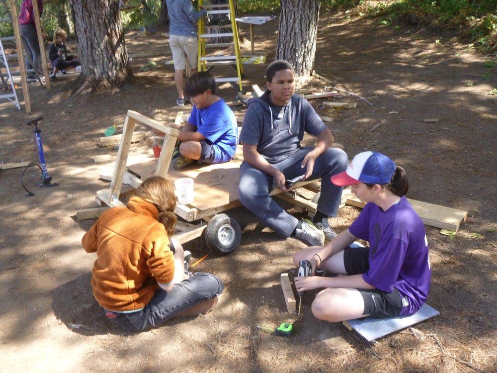 Team Kablooi's cart has taken shape!