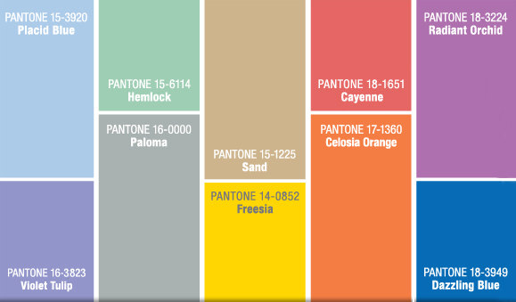 PANTONE® FASHION COLOR REPORT SPRING 2014