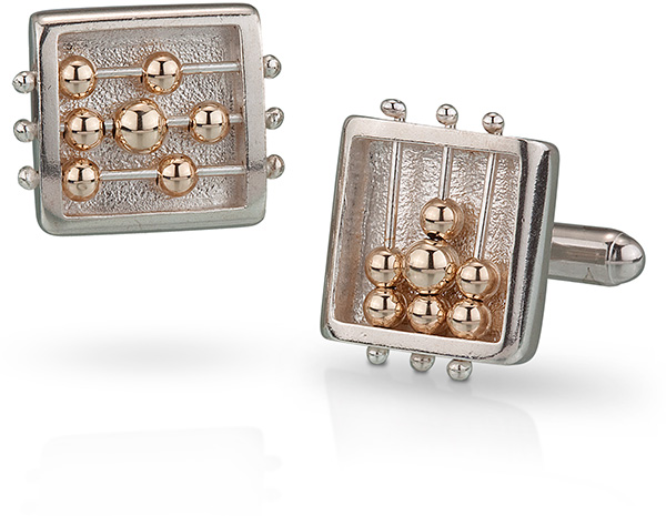 Square Abacus Cufflinks