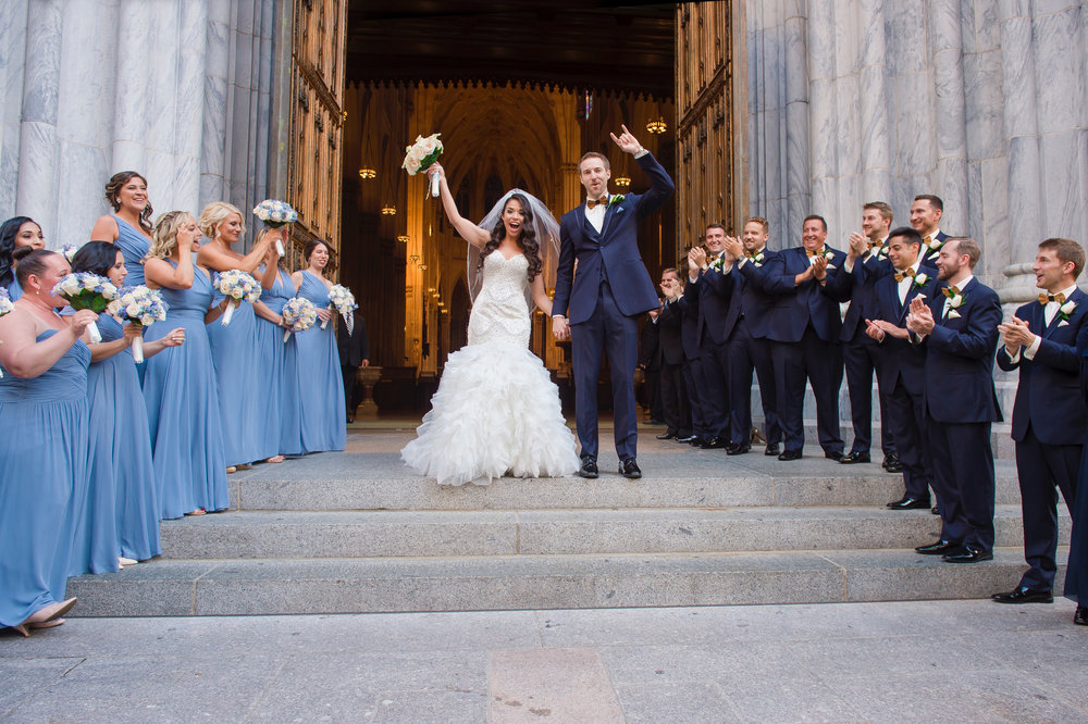 Finally married! Photo:  A Day of Bliss Photography